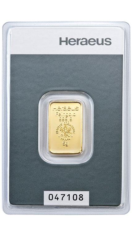 5g Goldbarren