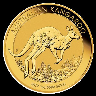Kangaroo Goldmünze 1 Unze