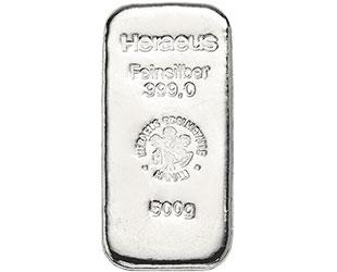 500g Silberbarren