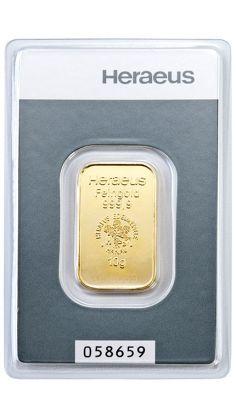 10g Goldbarren