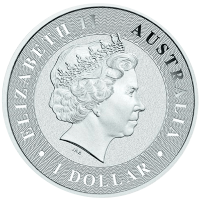 Kangaroo Silbermünze 1 Unze