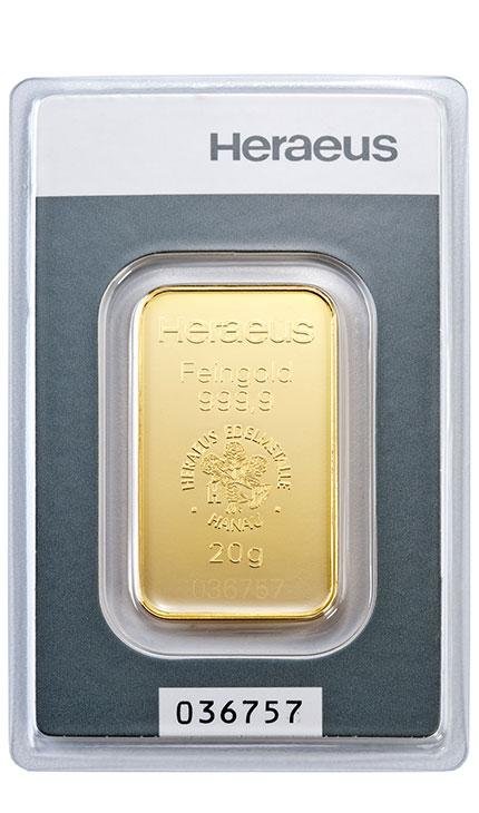 20g Goldbarren