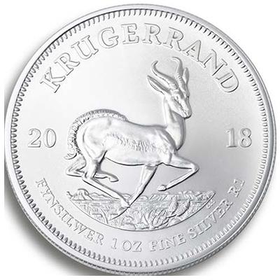 Krügerrand Silbermünze 1 Unze