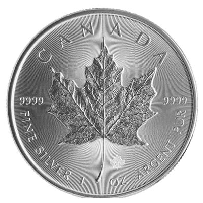 Maple Leaf Silbermünze 1 Unze