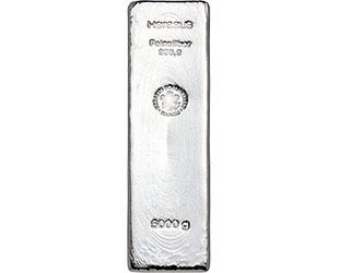 5000g Silberbarren
