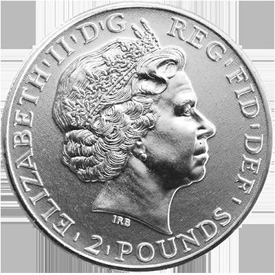 Britannia Silbermünze 1 Unze
