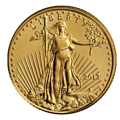 American Eagle 1 Unze Goldmünze