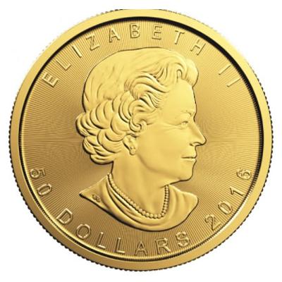 Maple Leaf Goldmünze 1 Unze